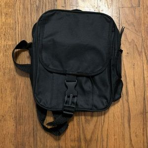 Basic Black Messenger Bag 8x10 (AARP)